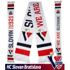 Fan šál HC Slovan Bratislava - WE ARE SLOVAN - svetlý