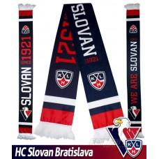 Fan šál HC Slovan Bratislava - WE ARE SLOVAN - tmavý