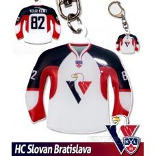 Prívesok dres HC Slovan Bratislava - svetlý