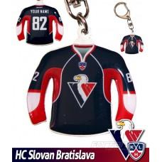 Prívesok dres HC Slovan Bratislava - tmavý