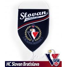 Vlajočka HC Slovan Bratislava - modrá, malá