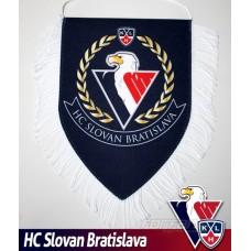 Vlajočka HC Slovan Bratislava - modrá, veľká