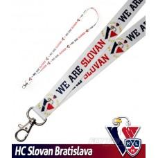 Šnúrka na kľúče HC Slovan Bratislava - svetlá