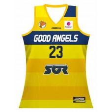 Basketbalový dres Good Angels - svetlá verzia  2015/2016