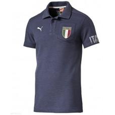 FIGC Italia Azzurri SS Polo Peacoat