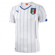 FIGC Italia Away Shirt Replica White