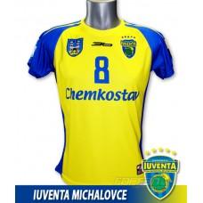 Hádzanársky dres Iuventa Michalovce 2012/13 svetlá verzia