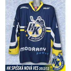 Hokejový dres HK Sp. N. Ves 2012/13 AUTHENTIC tmavá verzia