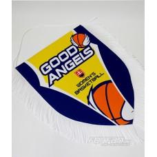 Vlajočka GOOD ANGELS veľká so strapcami