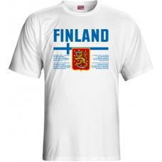 Tričko Fínsko vz. 1 - biela