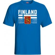 Tričko Fínsko vz. 1 - royal modrá