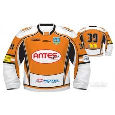 Hokejový dres HK Dukla Michalovce 2011/12 AUTHENTIC svetlá verzia