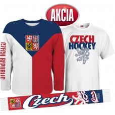 AKCIA - Dres + tričko + šál Czech