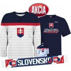 Action 2 - Jersey Slovakia + T-shirt + Scarf + Minijersey