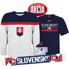 Action 3 - Jersey Slovakia + T-shirt + Scarf + Minijersey