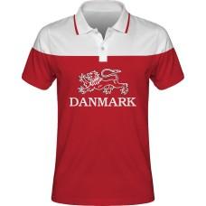 Sublimovaná polokošeľa Dánsko vz. 1
