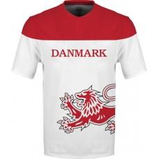 Sublimované tričko Dánsko vz. 2