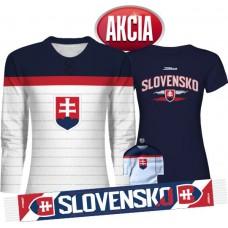 Dámska AKCIA 1 - Dres Slovensko + Tričko + Šál + Minidres