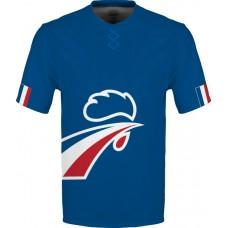 Sublimované tričko Francúzsko vz. 11