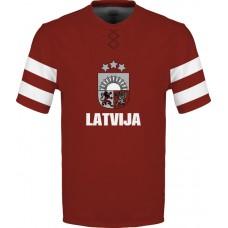 Sublimované tričko  Lotyšsko vz. 1