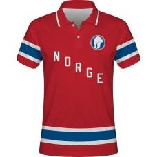 Sublimovaná polokošeľa Nórsko vz. 2