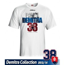 SLOVENSKO Tričko Pavol Demitra 19 - biela