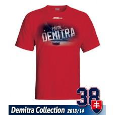 SLOVENSKO Tričko Pavol Demitra 22 - červená