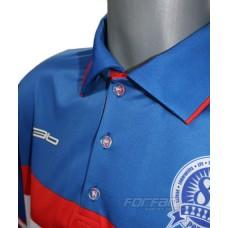 HK Poprad polokošeľa Retro Collection - svetlá verzia - royal modrá