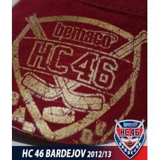 Čiapka HC 46 Bardejov modrá - červená