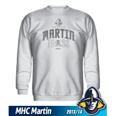 Detská mikina MHC Martin 2013/14 - biela