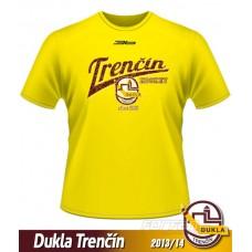 Detské tričko Dukla Trenčín 2013/14 - retro - žltá