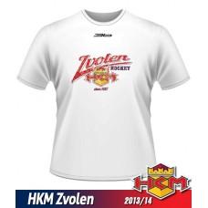 Detské tričko HKM Zvolen 2013/14 - retro - biela