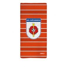Sublimovaná osuška MFK Ružomberok - oranžová