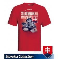 Tričko SLOVENSKO 4 - červená
