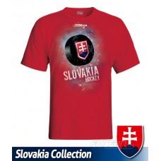 Tričko SLOVENSKO 2 - červená