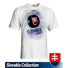 Tričko SLOVENSKO 2 - biela