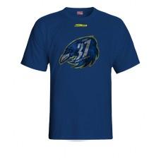 Tričko SHK 37 Piešťany vz. 4 - modrá–tmavomodrá