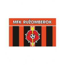 Zástava MFK Ružomberok - čierna