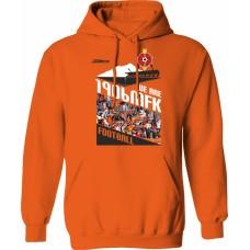 Mikina s kapucňou MFK Ružomberok 1 - oranžová
