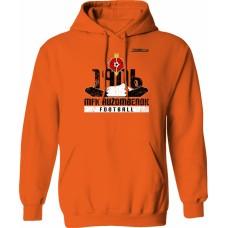 Mikina s kapucňou MFK Ružomberok 2 - oranžová
