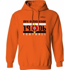 Mikina s kapucňou MFK Ružomberok 3 - oranžová