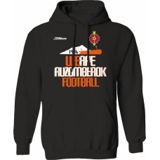 Mikina s kapucňou MFK Ružomberok 4 - čierna