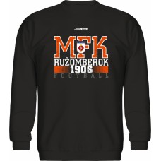 Mikina bez kapucne MFK Ružomberok 5 - čierna