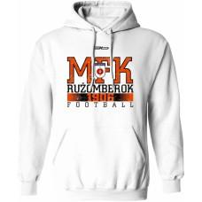 Mikina s kapucňou MFK Ružomberok 5 - biela
