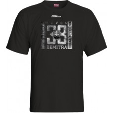 Tričko Pavol Demitra verzia 17 - čierna