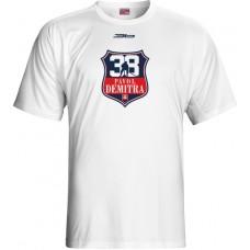 Tričko Pavol Demitra verzia 18 - biela