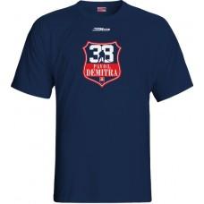 Tričko Pavol Demitra verzia 18 - modrá–tmavomodrá