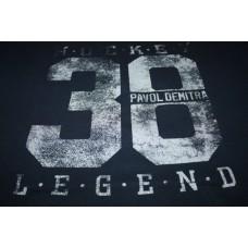 Tričko Pavol Demitra verzia 14 - modrá–tmavomodrá