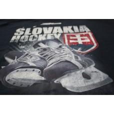 Tričko SLOVENSKO 4 - modrá–tmavomodrá