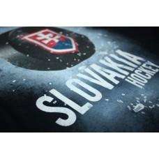 Tričko SLOVENSKO 2 - modrá–tmavomodrá